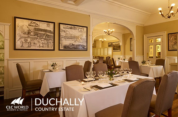 4* Duchally Country Estate afternoon tea