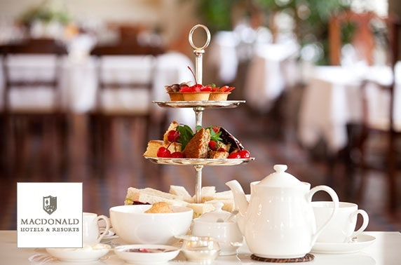 Gin afternoon tea, 4* Macdonald Inchyra Hotel & Spa