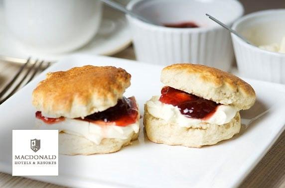 4* Macdonald Manchester spa day & cream tea