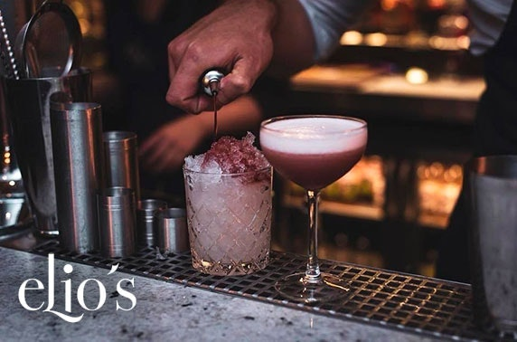 Elio's Prosecco or cocktails, George Street