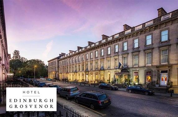 Edinburgh Grosvenor Hotel afternoon tea