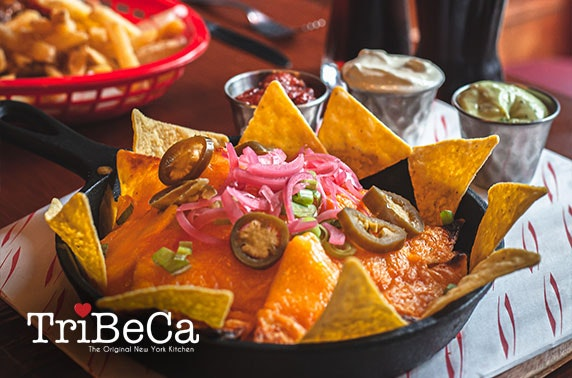 TriBeCa dining – choice of Merchant City or West End locations