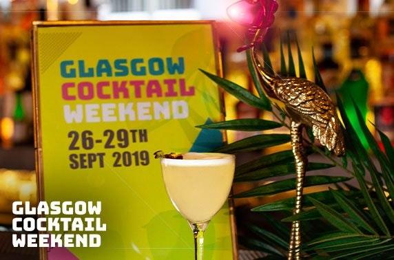 Glasgow Cocktail Weekend ticket