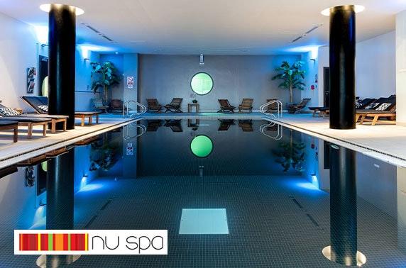 NUSPA Manchester spa experience, Park Inn by Radisson