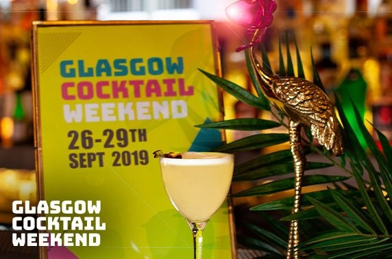 Glasgow Cocktail Weekend entry & drinks