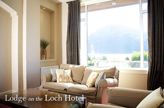 Lodge on the Loch break