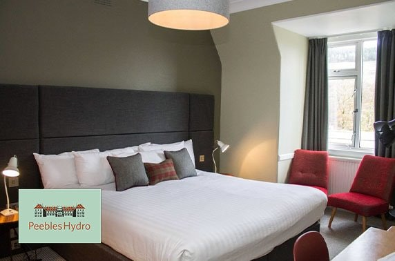 Peebles Hydro Hotel stay