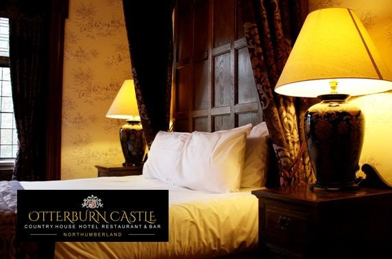 Otterburn Castle stay, Northumberland