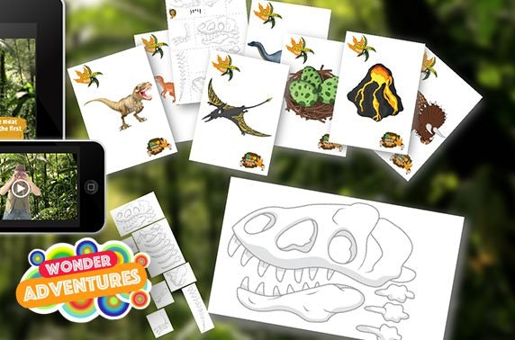 Dinosaur treasure hunt activity pack