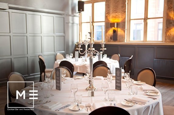 Metropolitan private dining, Merchant City