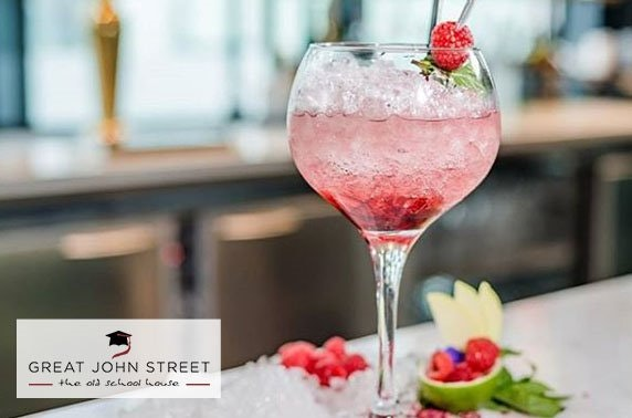 Rooftop BBQ and G&T at Great John Street Hotel