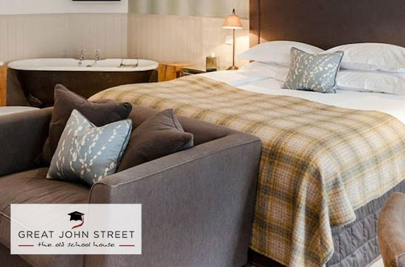 Great John Street Hotel suite stay