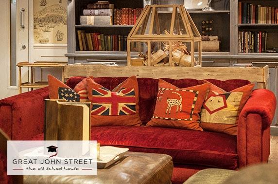 Great John Street Hotel suite stay