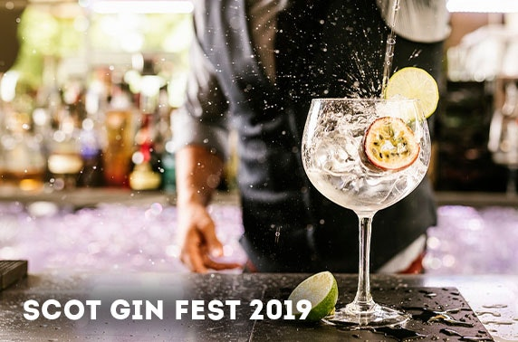 Scot Gin Fest tickets, City Centre