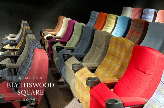 5* Blythswood Square luxury cinema hire