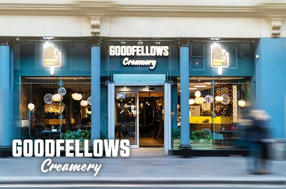 Goodfellows Creamery sweet treats, City Centre