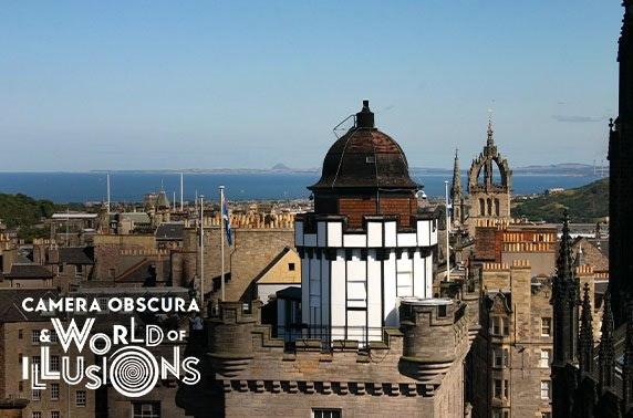 Camera Obscura & World of Illusions tickets