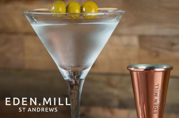 Eden Mill cocktail masterclass, St Andrews