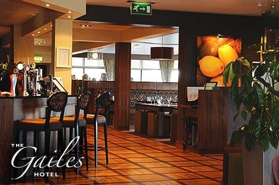 4* Gailes Hotel dining, Irvine