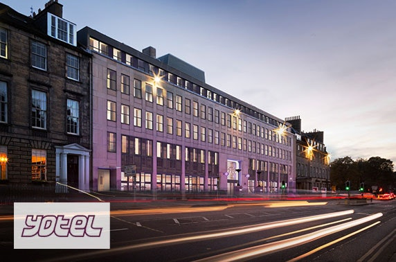 Brand new YOTEL Edinburgh stay
