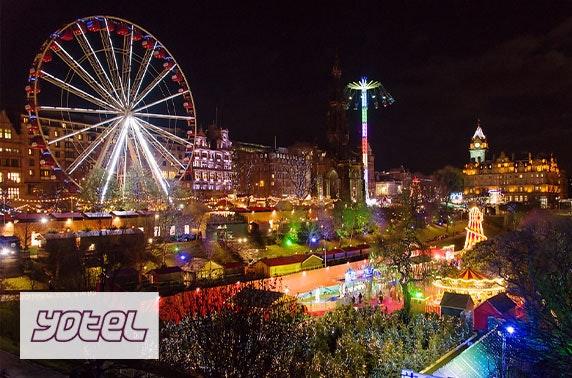 Brand new YOTEL Edinburgh stay