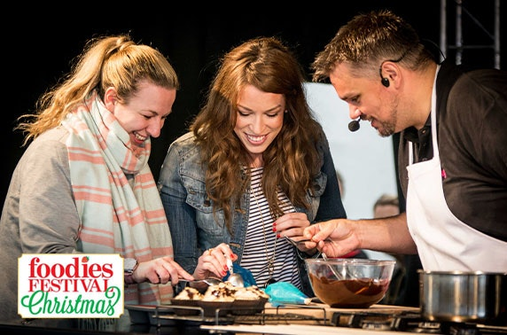 Foodies Festival Christmas, Tatton Park