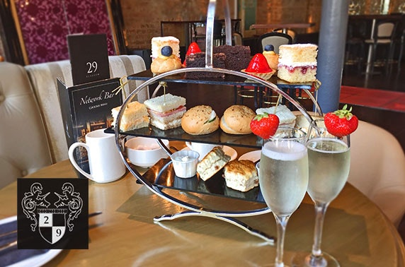 Afternoon tea & optional drinks, Royal Exchange Sq