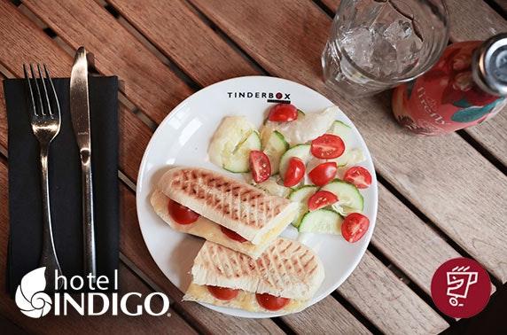 Tinderbox lunch, 4* Hotel Indigo Durham