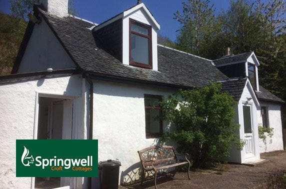 Springwell Croft Cottages stay – from less than £12pppn