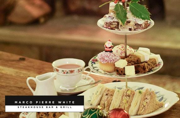 Marco Pierre White festive dining, 4* Hotel Indigo Durham