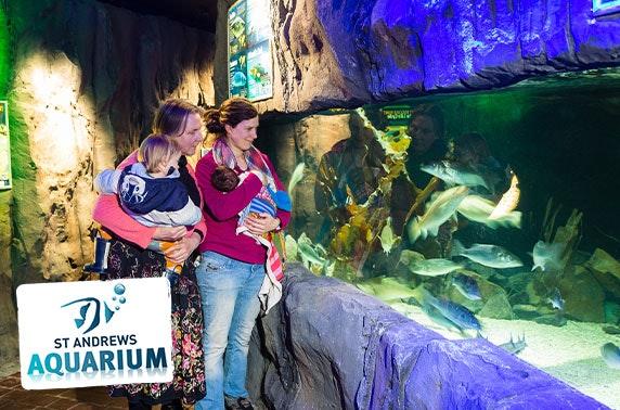 St Andrews Aquarium family day pass