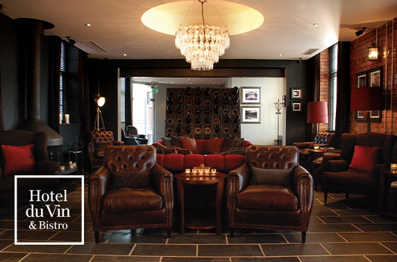 4* Hotel du Vin Newcastle dining