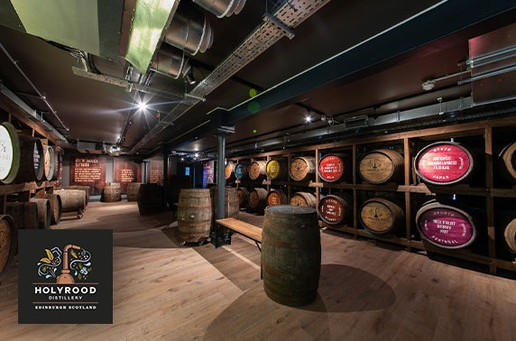 Holyrood Distillery, gin or whisky experience