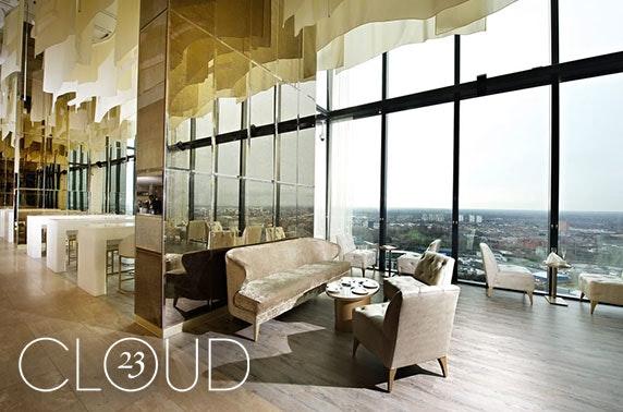 Cloud 23 sundae & Champagne