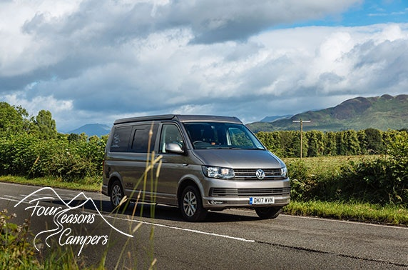 All inclusive VW campervan hire from £14pppn