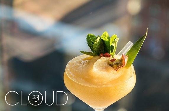 Cloud 23 festive afternoon tea & cocktails