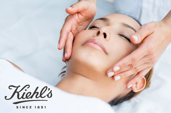 Kiehl's facial & goody bag - £5