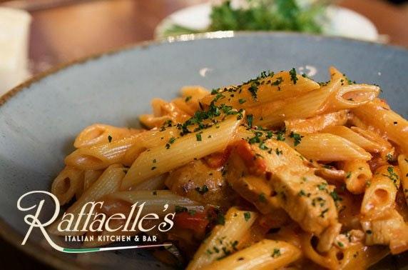 Dinner at Rafaelle's Italian Bar & Restaurant