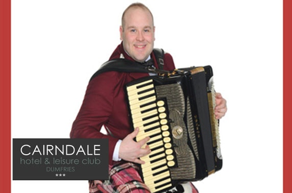 St Andrews ceilidh, dinner & overnight, Cairndale Hotel