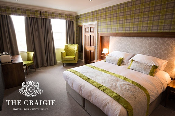 The Craigie Hotel stay, Penicuik