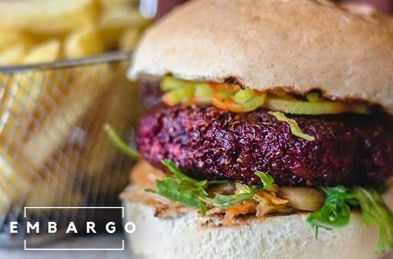 Burgers or ramen at Embargo