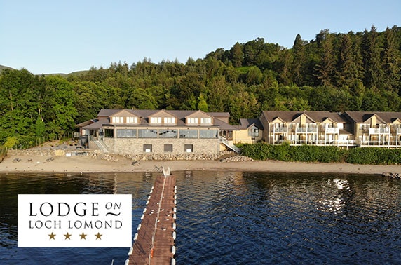 4* Lodge on Loch Lomond DBB