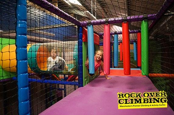 Rock Over Climbing soft play - £2pp