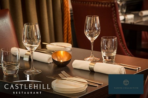 Michelin-recommended Castlehill lunch