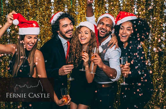 Fernie Castle Christmas party night