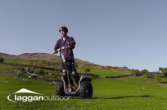 Laggan Outdoor Activity Centre Segway, zip wire & archery