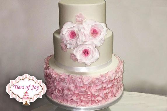 Wedding cake, Tiers of Joy