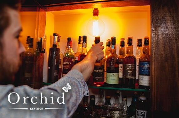 Gin or whisky tasting at Orchid Aberdeen