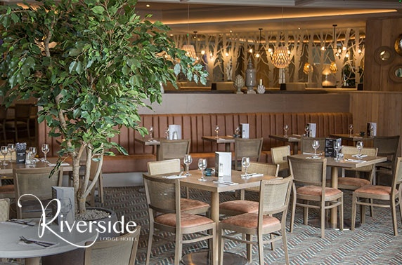 4* Riverside Lodge Hotel dining
