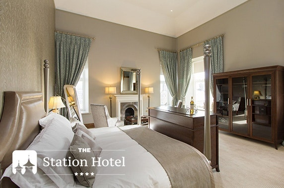 4* The Station Hotel stay, Speyside